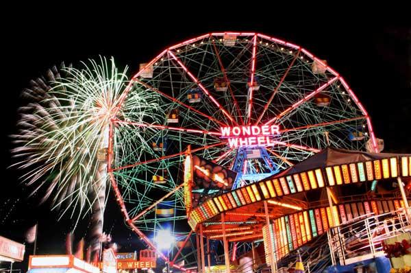 Atlantic Beach Long Island Fireworks