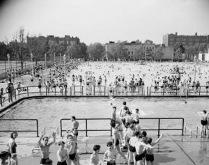 sunset park pool