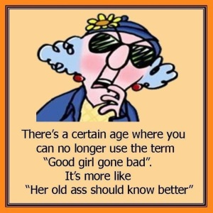 maxine growing old